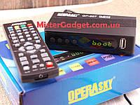 Тв тюнер DVB-Т2 Operasky OP-207 цифровой ресивер