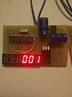 Счётчик учёта времени проката детского электромобиля 12V