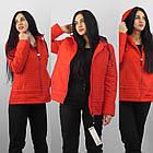 Демисезонная утепленная куртка. Новая коллекция QARLEVAR   2XL-6XL (46-56), фото 2