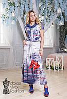 Стильное женское Платье размеры 46-54 код 1717