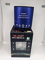Bluetooth колонка WSTER WS-633 (BLUE)