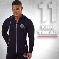 Kiro Tokao 183 | Мужская толстовка спортивная черная