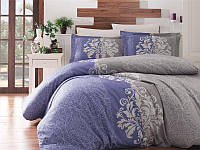 Комплект постельного белья First Choice Satin Hypnos Indigo, фото 1