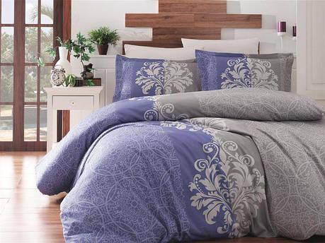 Комплект постельного белья First Choice Satin Hypnos Indigo, фото 2