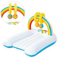Детский надувной плотик-столик для пеленания 52241 Bestway, 81х63х46 см