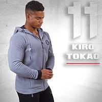 Kiro Tokao 156   Мужская спортивная толстовка меланж-белый