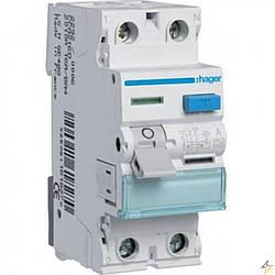 CD241J 2P 40A 30mA тип AC,Устройство защитного отключения (УЗО) Hager