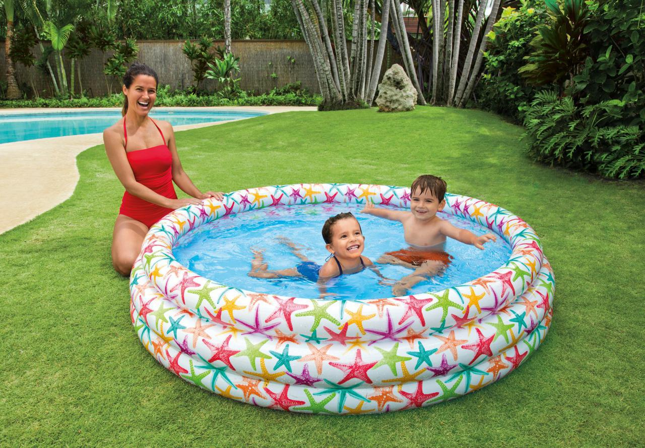 Детский надувной бассейн Intex  (168 х 40см)