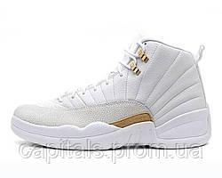 """Женские баскетбольные кроссовки Nike Air Jordan 12 OVO """"White Gold"""""""