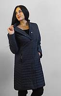 Демисезонная удлиненная куртка 2XL-6XL (46-58)  Новая коллекция  QARLEVAR -2018