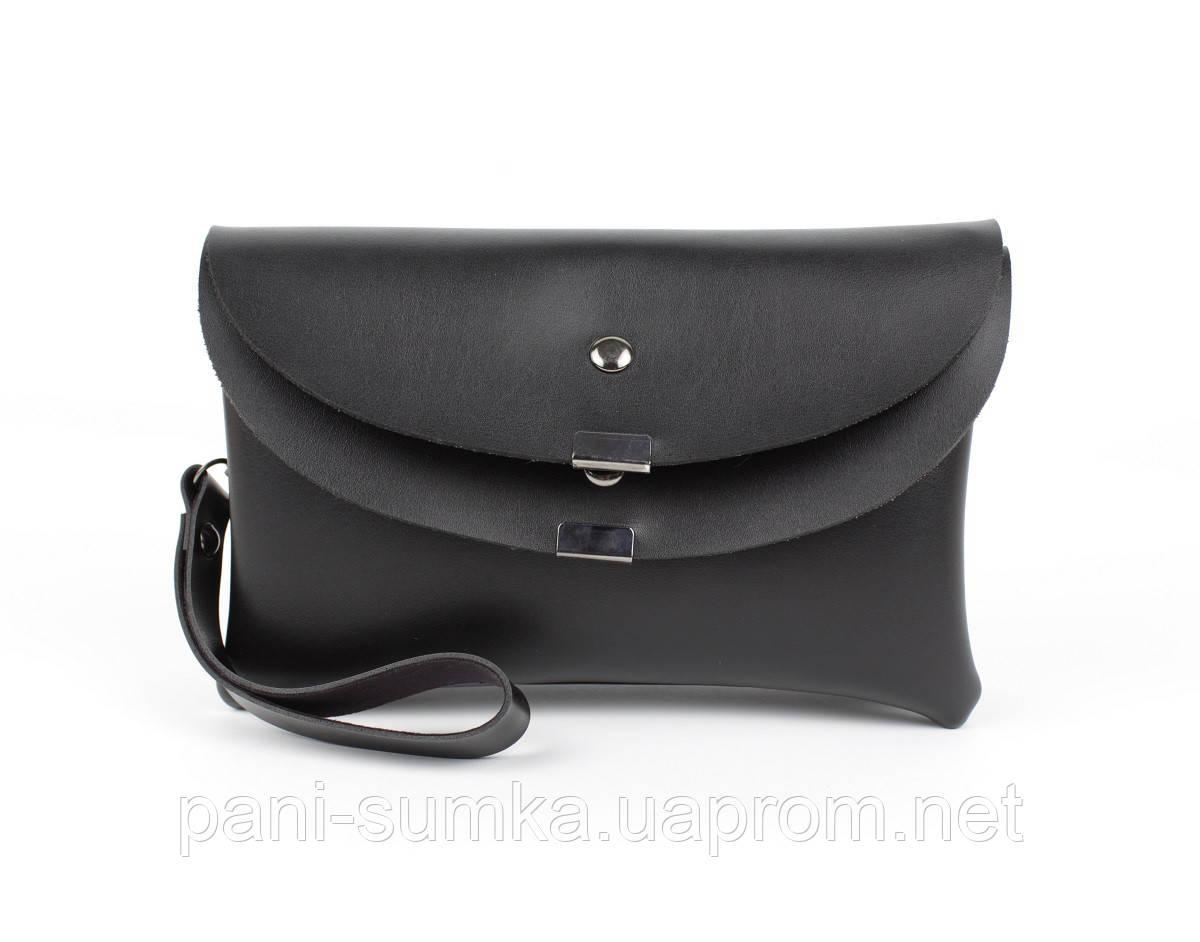 Клатч, сумочка через плечо 1902-1 черная, Турция
