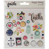 Брадси - Faith - Simple Stories - 23Pkg