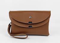 Клатч, сумочка через плечо 1902-3 коричневая, Турция, фото 1