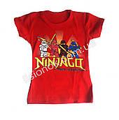 Детская футболка Ниндзяго (Ninjago) Турция 2-3 года Красный, 3 года
