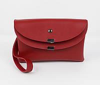 Клатч, сумочка через плечо 1902-4 красная, Турция