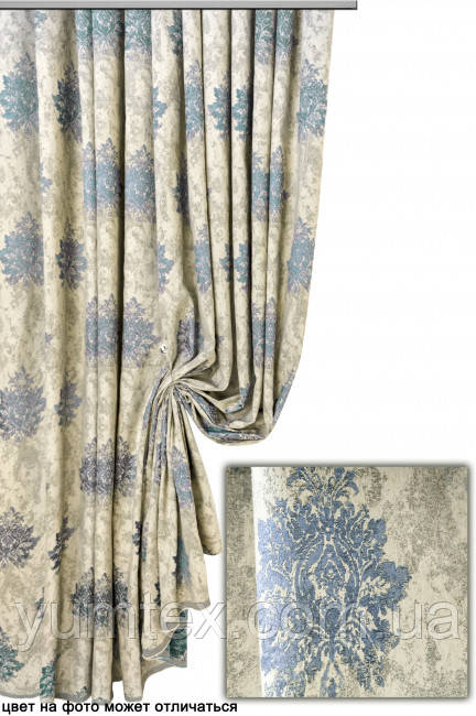 Портьерная ткань корона Августа, цвет 10