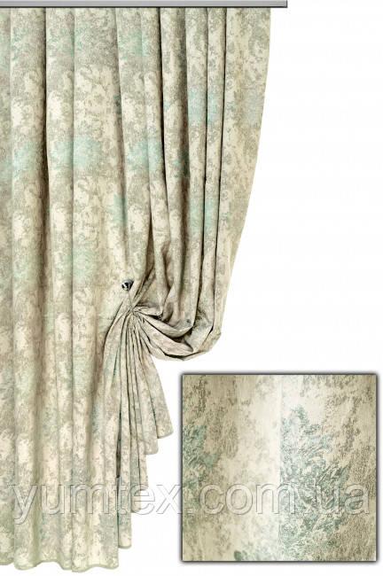 Портьерная ткань корона Августа, цвет 09