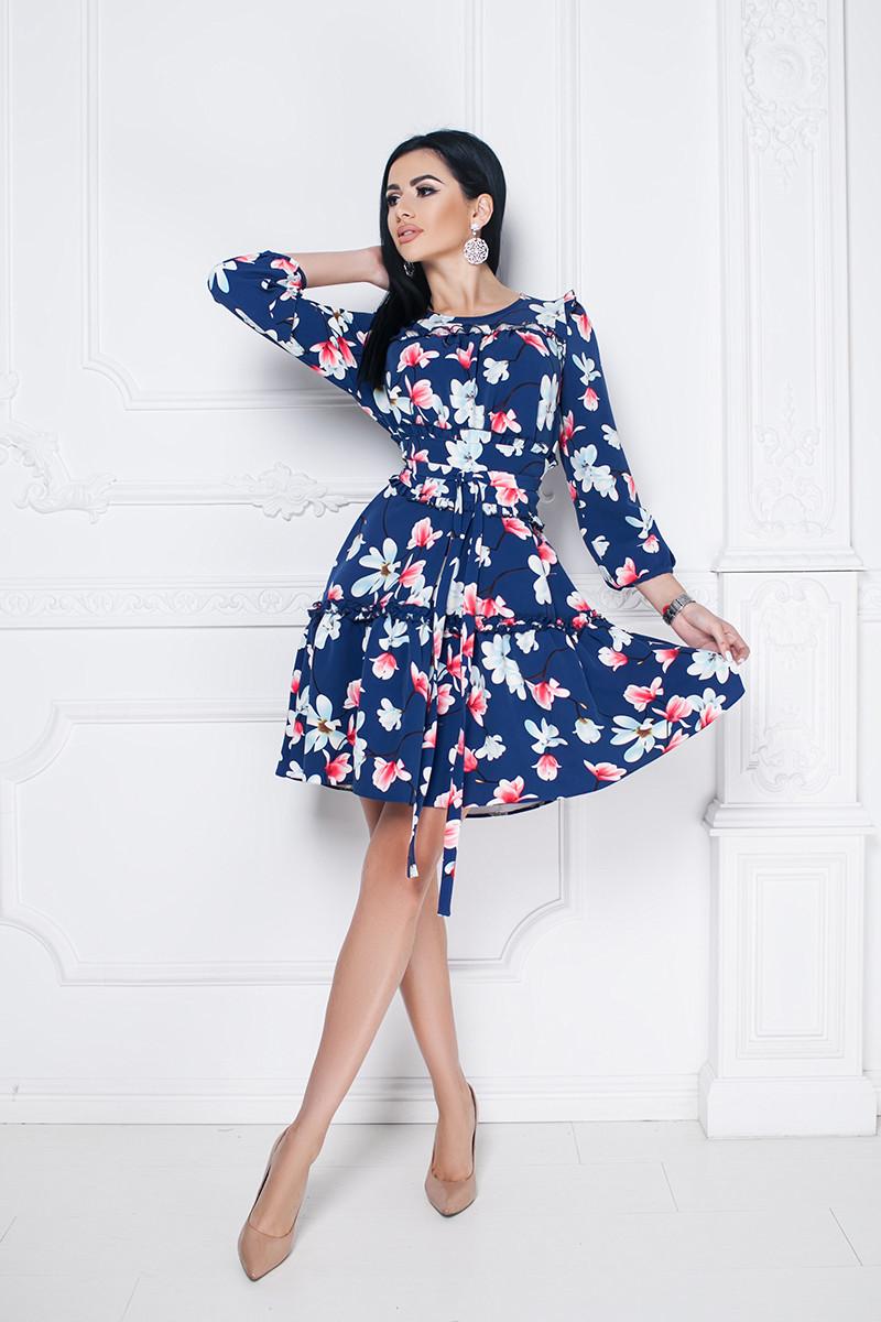 Сукня Annie вільного крою з рюшами і знімним поясом-поясом