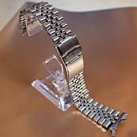 22мм Jubilee оригинальный стальной браслет для Seiko SKX007, SKX009, SKX011