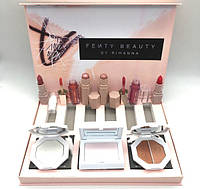 Набор FENTY BEAUTY BY RIHANNA High Light Lipstick Lip Gloss Bronzer Palette Set