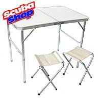 Туристический комплект VERUS (стол+2 стульчика)