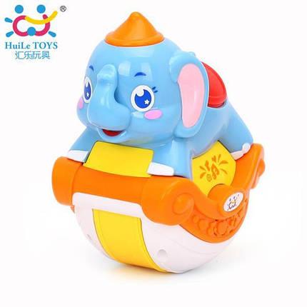 """Игрушка Huile Toys """"Музыкальный слоник"""" (3105ABC-C), фото 2"""