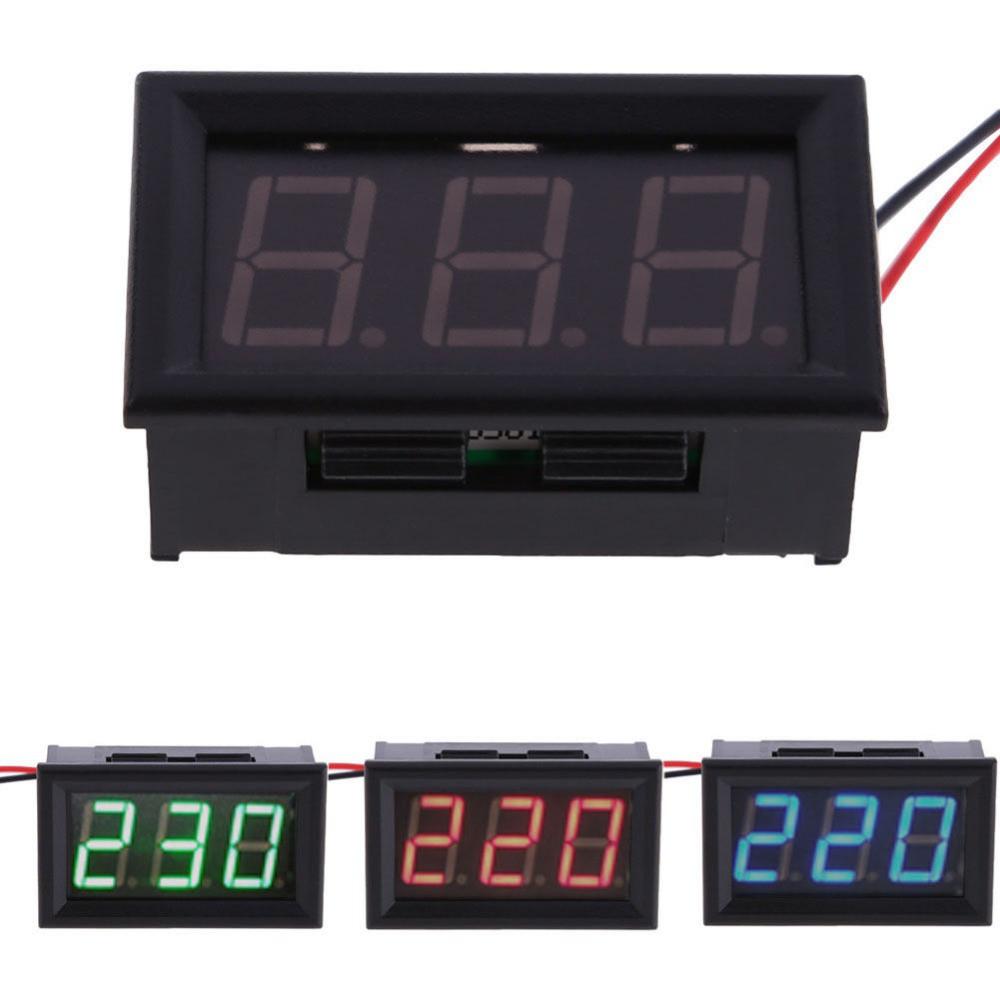 Цифровой вольтметр переменного тока 220 В