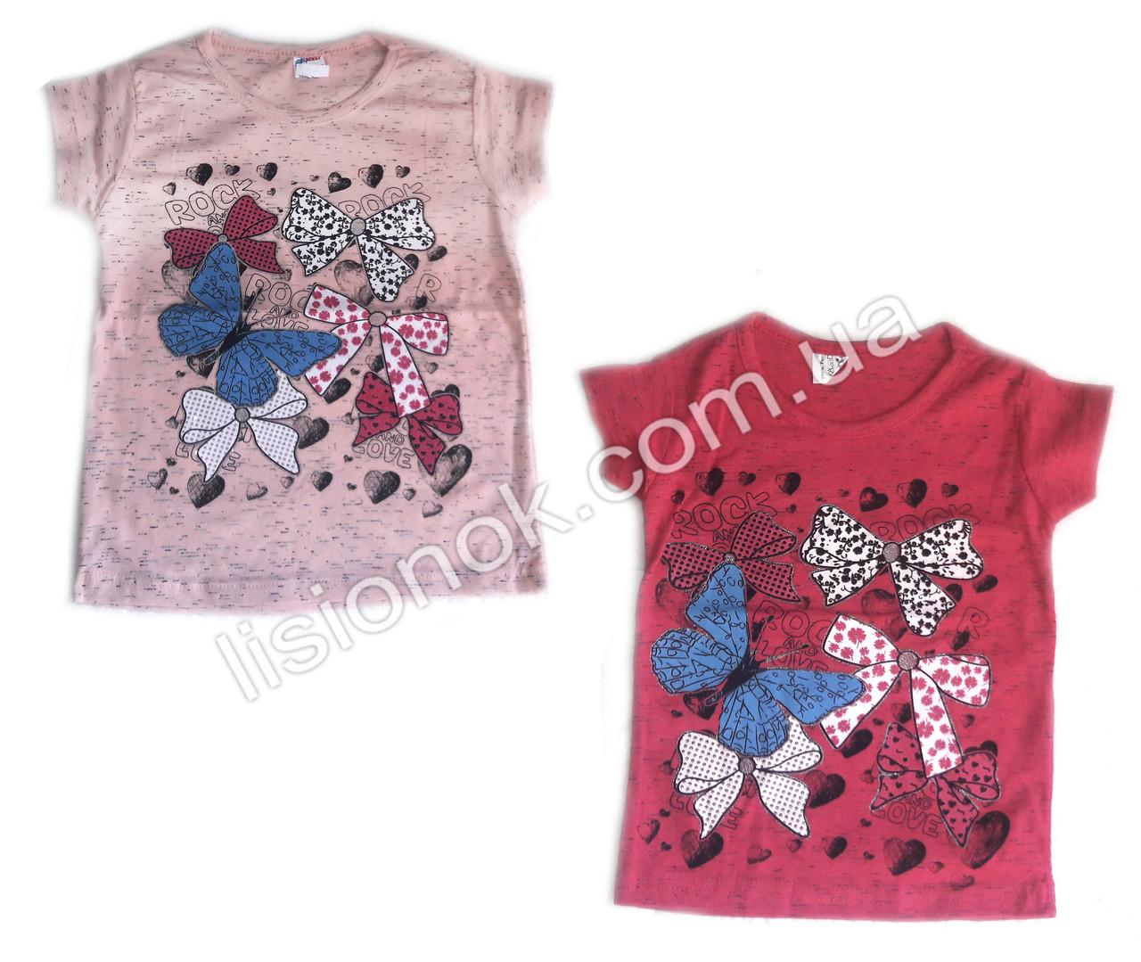 Детская футболка Бантики Турция