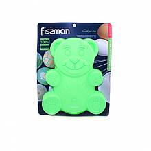 Форма для выпекания кексов Fissman МЕДВЕЖОНОК (Силикон)