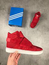 Мужские кроссовки Adidas Tubular red, фото 3