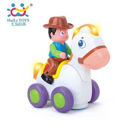 "Игрушка Huile Toys ""Ковбой на веселой лошади"" (838A), фото 2"