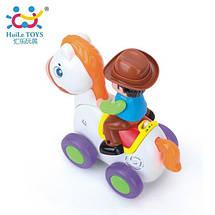 "Игрушка Huile Toys ""Ковбой на веселой лошади"" (838A), фото 3"