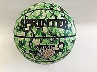 """Баскетбольний м'яч """"GROUPSTAR"""" №7 зелений камуфляж"""