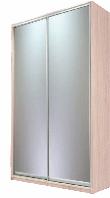 Шкаф-купе Doros 1200x450x2250 мм дуб светлый