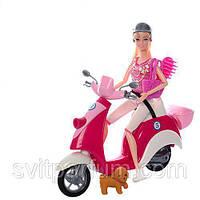 Кукла шарнирная 5533 29 см мотоцикл 29 см музыка свет 2 вида KK