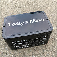 Ланч Бокс Трехъярусный Today's menu. Lunch Box 1915 мл