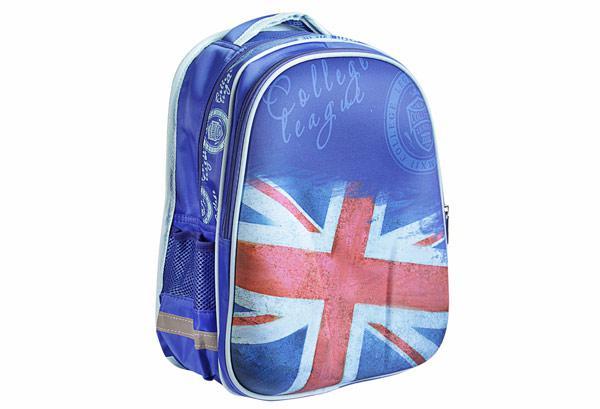Рюкзак шкільний каркасний унісекс KIDIS COLLEGE LEAGUE LONDON 7199 39 * 30 * 18см