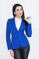 Пиджак классический синий, фото 1