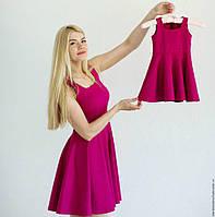 Платье для мамы и дочки family look