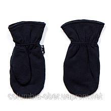 Демисезонные рукавички для мальчика Peluche S18 MIT 07 BF Navy. Размеры 6/12 мес - 2/3 года.