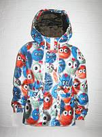 """Куртка ветровка для девочки и для мальчика весна осень """"Пушистик"""", фото 1"""