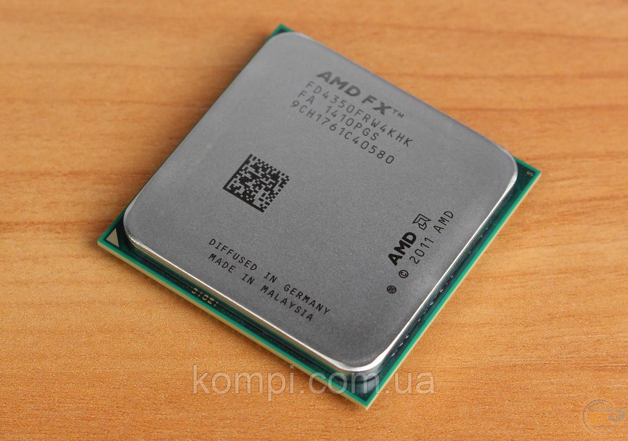 Процесор AMD X4 FX 4350 / FX4350 4.2GHz/8MB/2000MHz (FD4350FRW4KHK) sAM3+