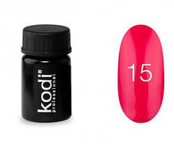 Гель-краска Kodi №15, 4 ml