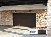 Секционные ворота DoorHan. Шир.: 3500 мм, выс.: 2100 мм.