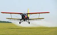 Внесение средств защиты растений самолетом Ан-2. Услуги сельхозавиации