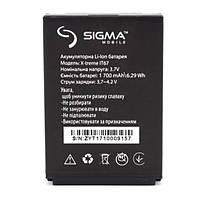 Аккумулятор для Sigma mobile X-treme IP67 / IT67, (ORIGINAL) 1700 мAh