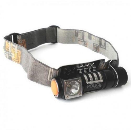 Налобный тактический фонарик POLICE 2155/8022-XPE