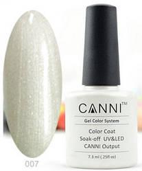 Гель-лак Canni №007 7.3 мл.