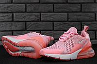 Кроссовки женские Nike Air Max 270 код товара KD-11491. Розовые