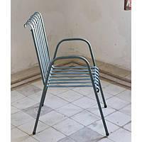 Уличный металлический стул